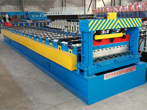 750横板压瓦机